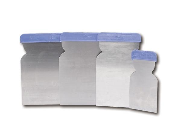 Flächenspachtel Stahl 4er Set CHP