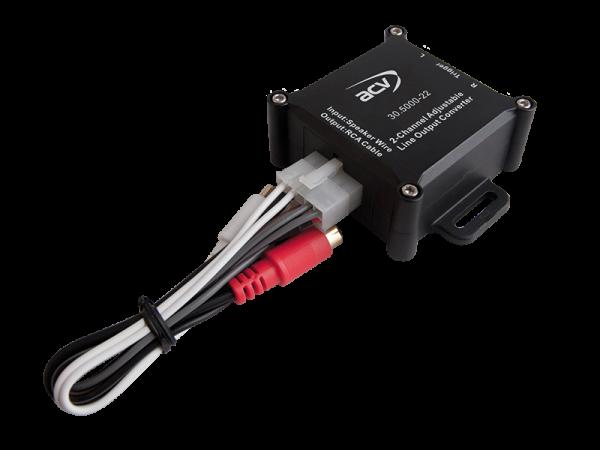 Premium High-Level Adapter 2-Kanal mit Remote