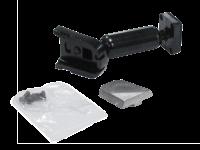Metallhalter zur Scheibenbefestigung für acv Spiegelmonitor