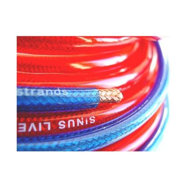 Meterware Powerkabel Stromkabel rot versch. Größen