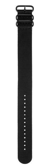 Nylon Durchzugs-Armband schwarz fenix 3