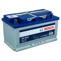 S4 010 Autobatterie 12V 80Ah 740A