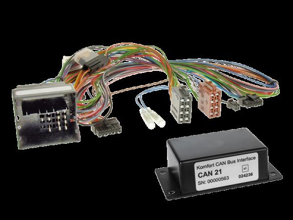 Mercedes CAN-BUS Adapter für Fahrzeuge mit Multifunktionslenkrad auf Variocom + Radio