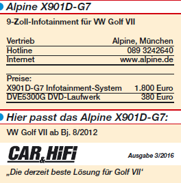 alpine x901d g7 x901d g7 autoradios toms car hifi. Black Bedroom Furniture Sets. Home Design Ideas
