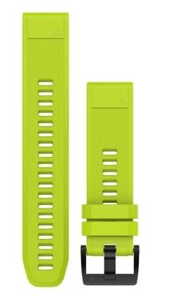 QuickFit 22-Uhrenarmbänder Gelb, Silikon