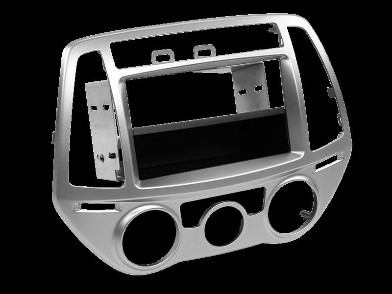 ACV 2-DIN RB mit Fach Hyundai I20 manuelle Klimaanlage silber