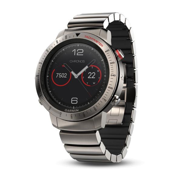 fenix Chronos-Uhr mit Hybrid-Armband aus Titan