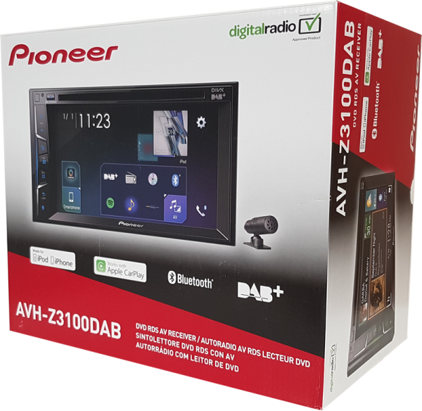 AVH-Z3100DAB inkl. DAB-Antenne & Kamera ND-BC8