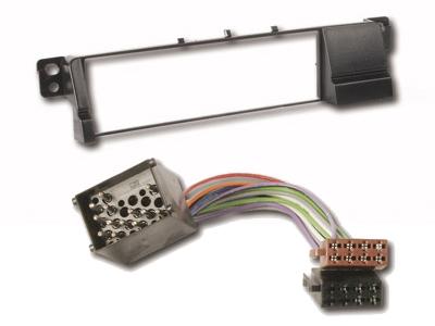 chp bmw 3er e46 radioblende inkl iso adapter bmw 3er. Black Bedroom Furniture Sets. Home Design Ideas