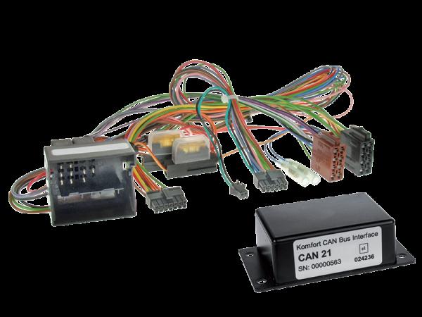BMW CAN-BUS Adapter für Fahrzeuge mit Multifunktionslenkrad auf Variocom + Radio