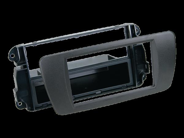 Radiohalterung Seat Ibiza Doppel ISO ( nitschwarz)