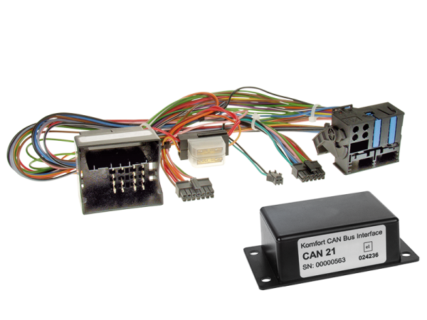VW CAN-BUS Adapter für Fahrzeuge mit Multifunktionslenkrad auf Variocom VC04
