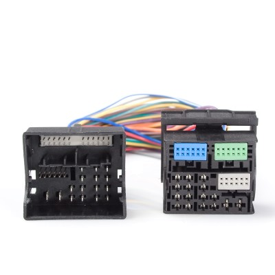 Adapter Quadlock(M) - Quadlock(F), 52 pin
