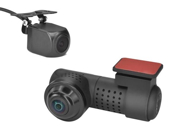 360 Grad Panaroma Dashcam mit Nachtsicht + Heckkamera