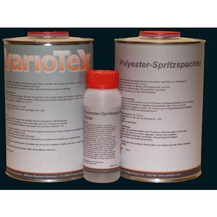 Spritzspachtel 2-K 1500 gr incl Härter